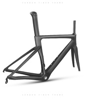 Carbon Road Frame Carbon Fiber UD Bicycle Frame 700C Frameset Fork Seatpost Clamp Road Frame Bicycle Bike
