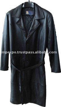 Ladies Leather coat(Over Coat) (Item No.Item No.IMPEXPOLEATHERLADIES23)