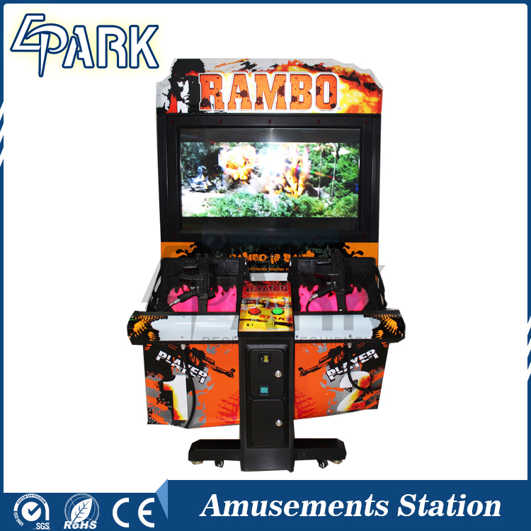 Rambo gun shooting simulator machine amusement video arcade games machines