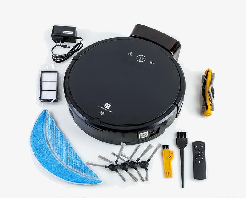 Tuya Robot Aspirateur Laveur Avec L'application Wi fi