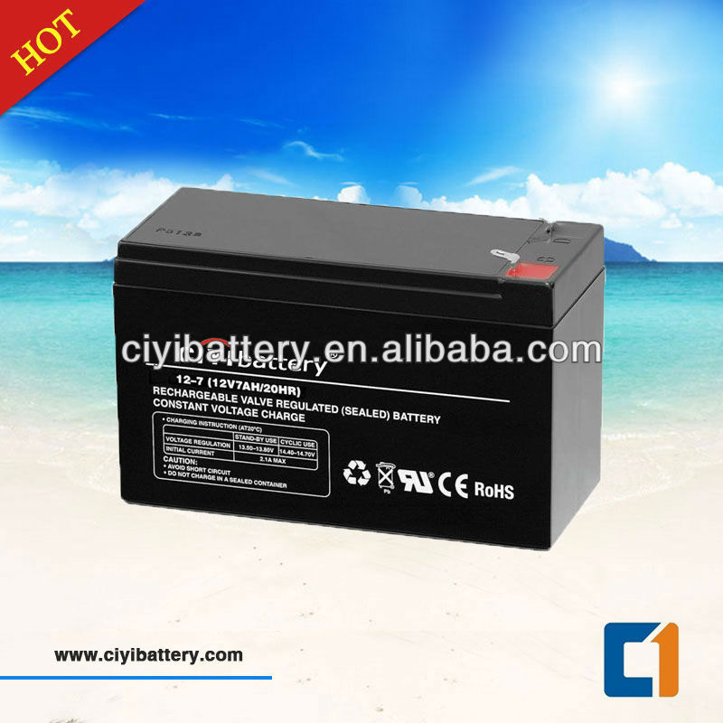 UPS Battery SMF Lead Acid Battery 12V 7AH