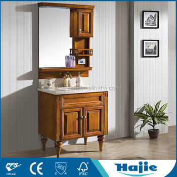 Cheap Wooden Cabinet Used Bathroom Vanity Cabinets
