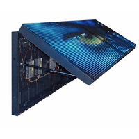 UHLED P10 P8 P6 P5 Outdoor Street Advertising Signs Board Front Open Double Sided LED Display Screen