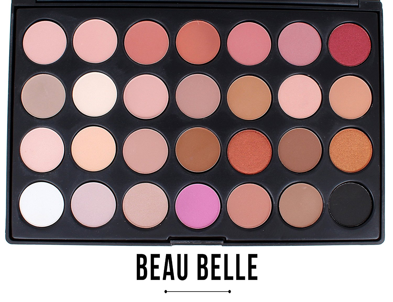Beau Belle Eyeshadow Palette - Eyeshadow Pallet - Eyeshadow - Eyeshadows - Eyeshadows Palette - Eye Makeup - Professional Eye Makeup - Professional Eyeshadow Palette - (Dusk Rose Palette)