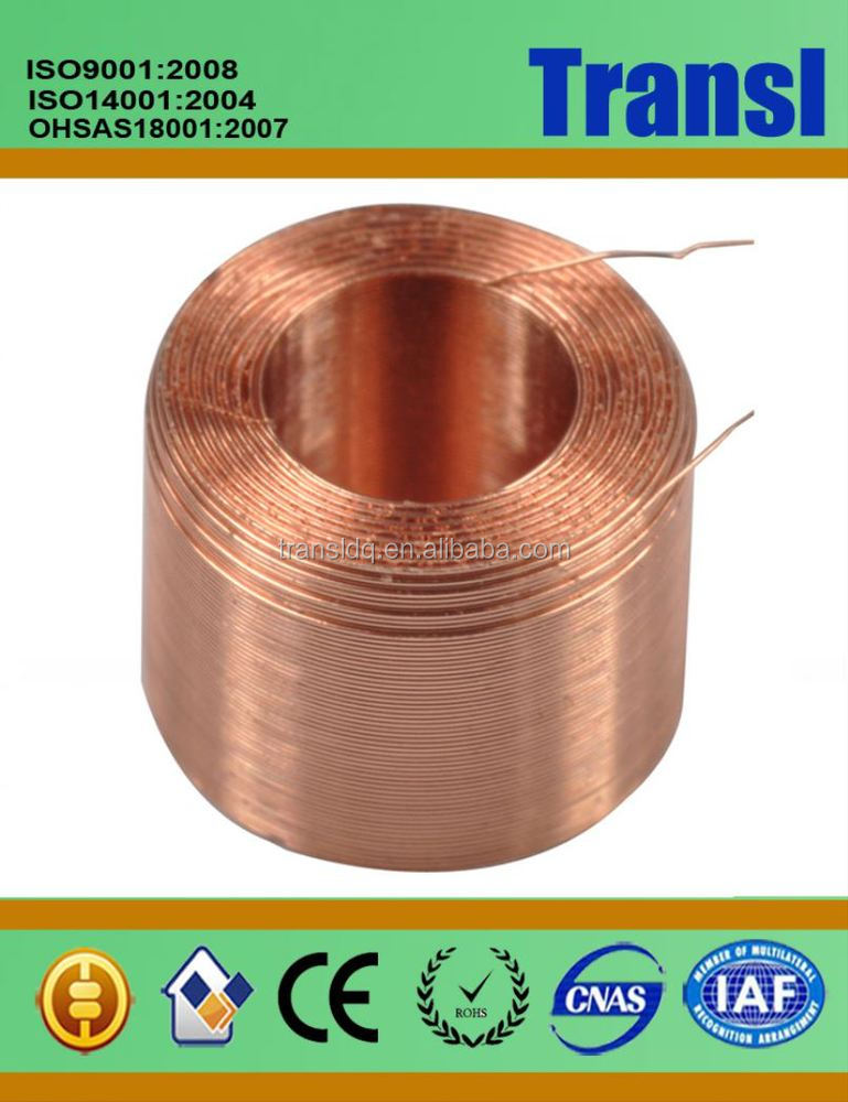 Litz Wire / Enamelled Wire/ Silk-Covered Wire Coil Rfid Id 50Mm Round Square Copper Inductor Coil