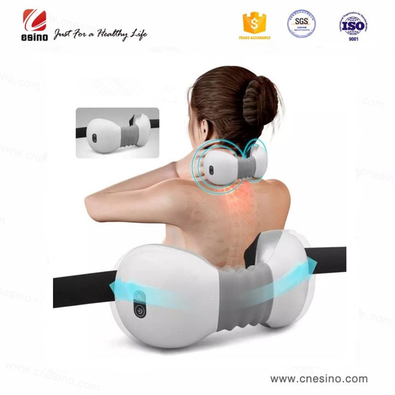 2018 New Product Neck & Shoulder Massager with Infrared Heat Pain Relief ES-M116