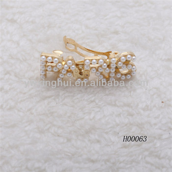 Factory Wholesale Metal Hair Clips,Hair Clip Design,Made In China ...