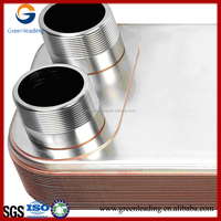 Top quality AISI316 brazed plate heat exchanger manufacturer