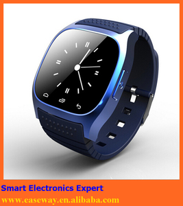 M26 brand watches for samsung wrist watch phone , bluetooth Android and IOS compatible bluetooth wrist smart watch phone