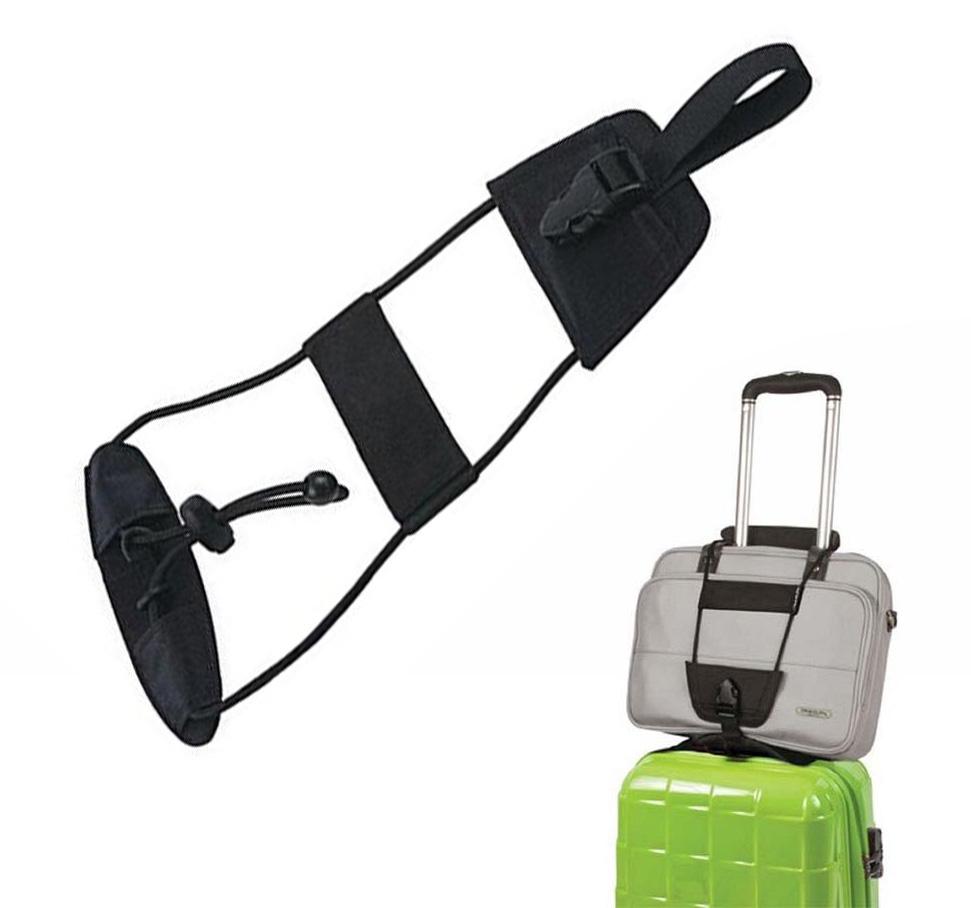 Correa para Maleta Luggage Bag Bungee Accesorio /Útil para Viajar en Avi/ón Equipaje de Mano sobre el Trolley