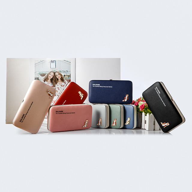 New lady metal frame <strong>wallet</strong> Woman Cell phone pidanlu <strong>Wallet</strong> Leather Purse Long Wholesale Mobile <strong>Wallet</strong>