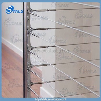 Stainless Steel Cable Railing Tension Wire Railing Handrail - Buy ...