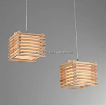 Pendelleuchte Holzleuchte Fur Innenbeleuchtung Mit Holzdecke Stieg In China Buy Holzrahmen Pendelleuchte Licht Holzdecke