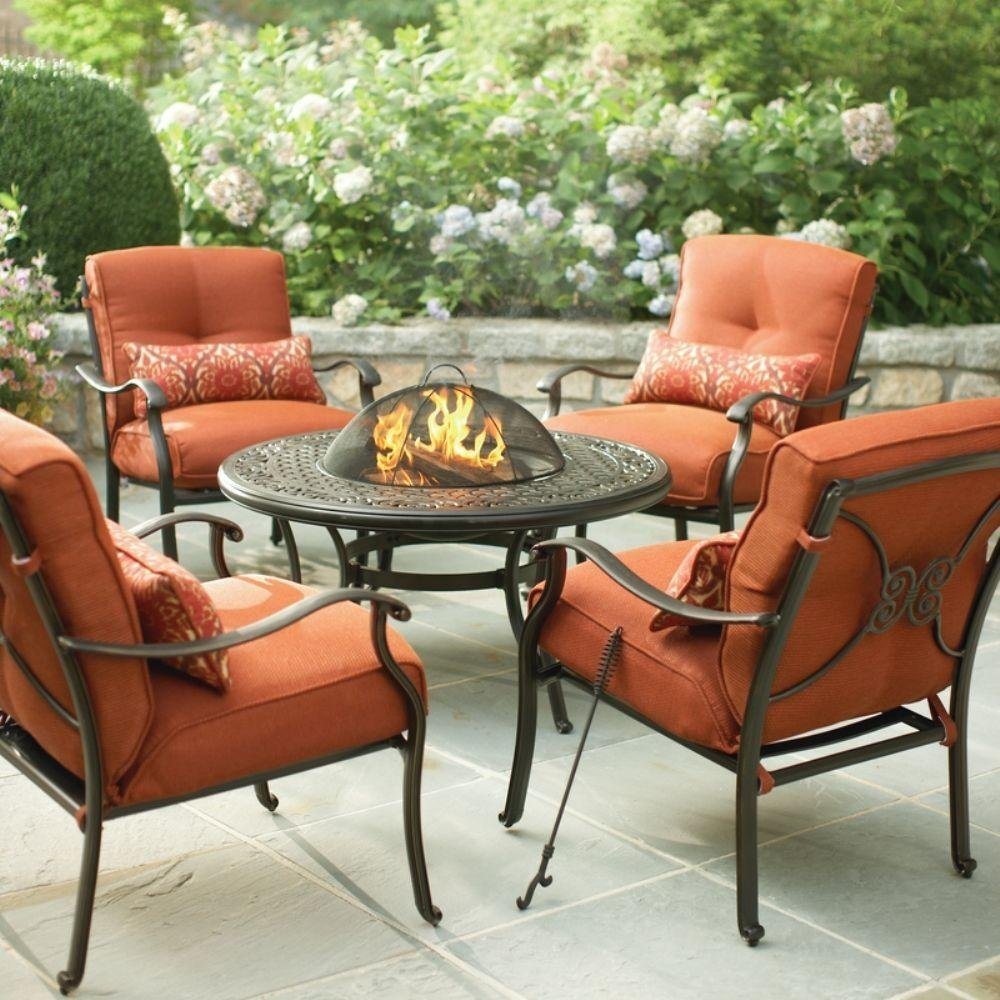 Buy Martha Stewart Living Cold Spring 5-Piece Patio Fire ... on Martha Living Wicker Patio Set id=16224