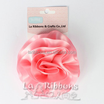 Handmade Ribbon Flower Made With Satin Ribbon For Sale Buy Flower