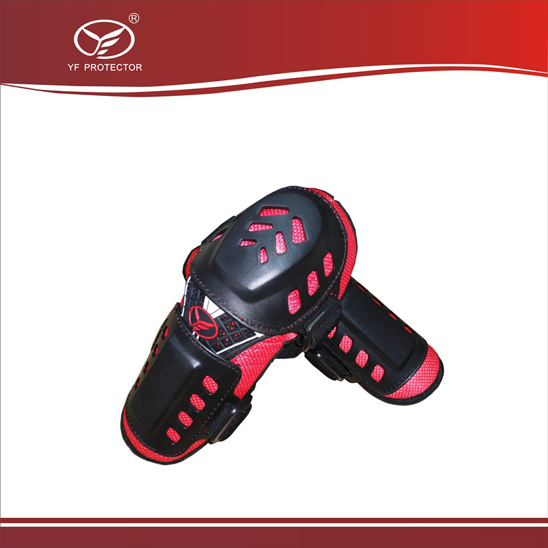 CE Certified Elbow Guard For Motorcycle/Bike Riding/ Cool&Fashion Red Color