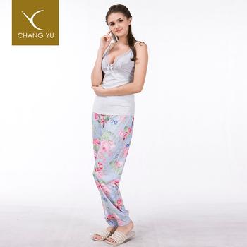 Wholesale Adult Custom Printed Knit Japanese Pajamas Women d5df49cf4