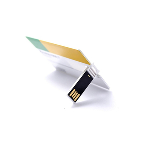 Cube cute ultra slim products OEM credit card USB flash drives easy to take