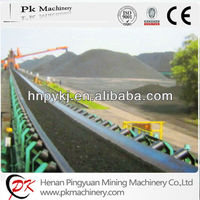 Nylon belt, polyurethane belt, steel cord belt fixed belt conveyor