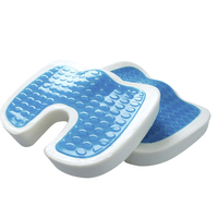 100% Polyurethane Seat Gel Pad Cool Car Seat Ice Cushion 100% Cold Gel Seat Cushion