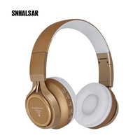 Top quality wireless wifi computer headsets earphone blue-tooth mobile headphone with microphone