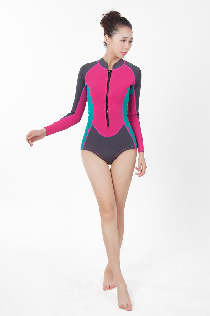 2019 Women's surfsuits fabric for summer neoprene fclothes 7