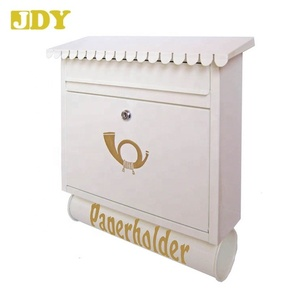 #8181 Most Popular Europe Product Steel Wall Outdoor Mailboxes for Apartment
