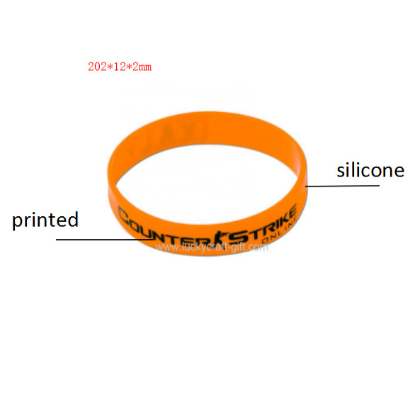 High quality silicone wristbands with your logo for sport events