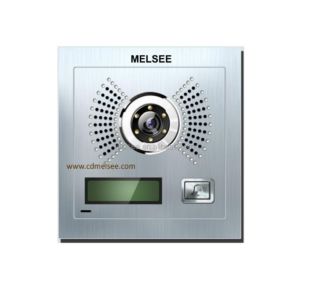 Melsee Wifi App Video Door Phone Video Intercom System For Villa ...