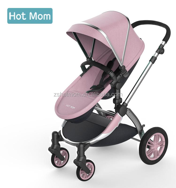 Hot Mom Cochecito De Bebé 3 En 1 Catre Almacenado En El