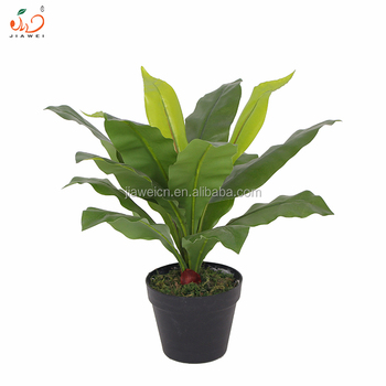 new design potted table plants artificial fern plants/artificial