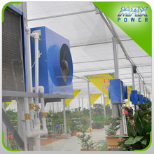 water hot air machine for greenhouse heating