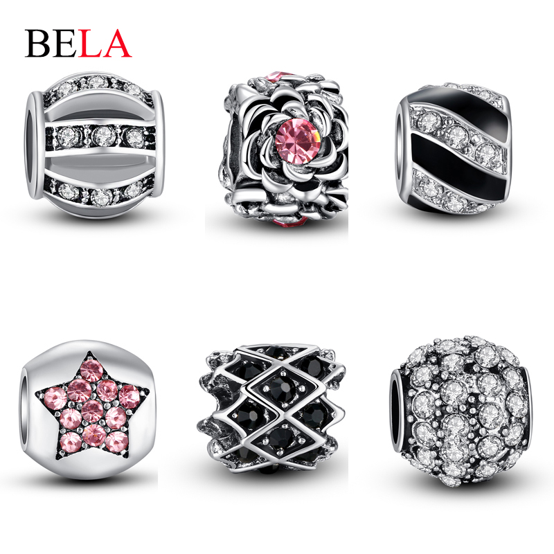 Pandora Outlet Store 925 Silver Crystal Bead Multicolored