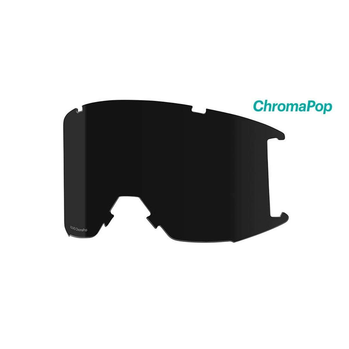 fe92b671c413 Get Quotations · Smith Optics Squad Adult Replacement Lense Snow Goggles  Accessories - Chromapop Sun Black One Size