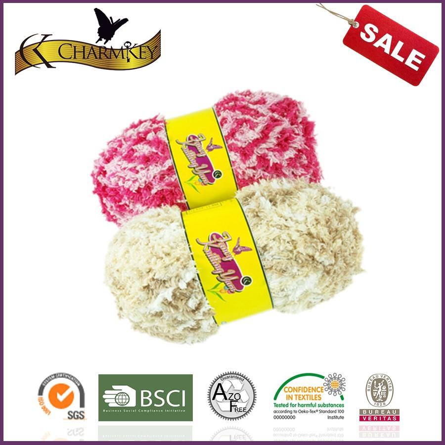 Girls\' Fashion Accessories Glittering Eyelash Yarn Knitting Patterns ...