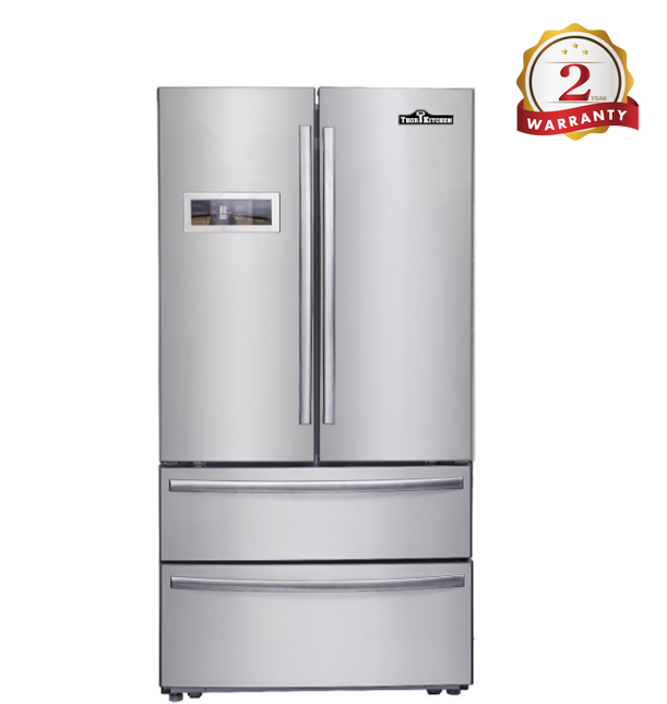 Kitchen Refrigerator HRF3601U Stainless Steel Upright Freezer With Ice Maker