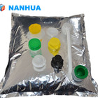 Nice Quality 1-220liter aseptic bag in box with spout for liquid packaging