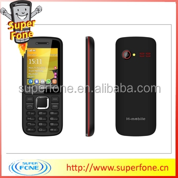 L3 2.4 inch GSM/850-900-1800-1900MHz support TV / WIFI dual sim card online cheap mobile phones
