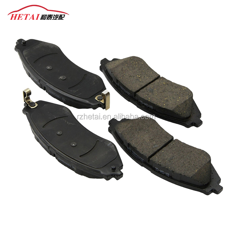 Hi-q D1035 black brake pad set