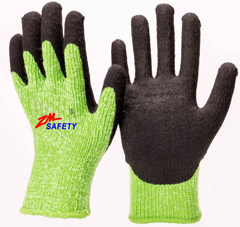 Factory Wholesale Winter Working Gloves in Safety Gloves