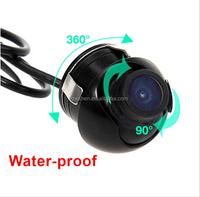360 Degree CCD HD Night Vision Car Rear View Camera Waterproof Front View Reversing backup rearview Camera