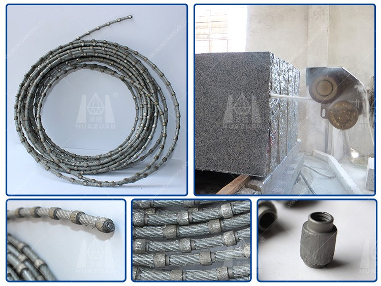 10.5mm diamond wire saw for concrete cutting