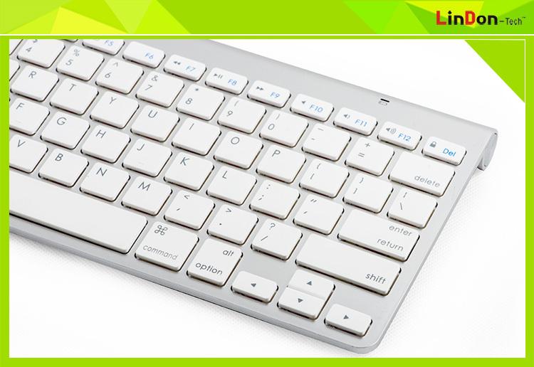 For Apple Wireless Keyboard Scissor Switch 2.4g Wireless Keyboard ...