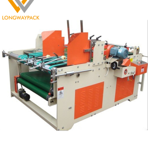 Semi-auto Press Type paperboard carton boxes Folding Gluing Machine