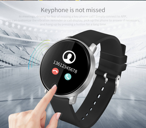 2019 S226D Smart Watch Men Women Fitness Tracker Heart Rate Monitor Round Blood Pressure Pedometer For Android IOS Smartwatch