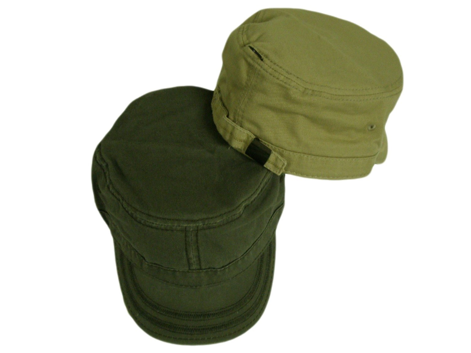 757570f95b992 Get Quotations · Military Style Golf Hats Olive Tan Ranger S M 2PK
