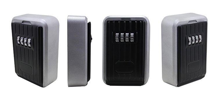 Outdoor Wall mounted lock box digital Car key safe box