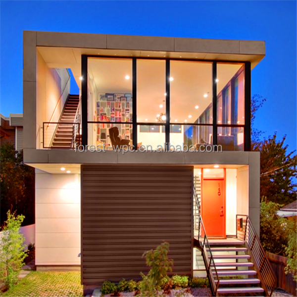 Wpc frstech stock co ltd peque a casa de madera subterr neo casas de madera prefabricadas de - Casas prefabricadas low cost ...