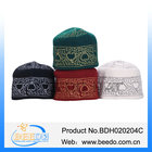 Wool felt embroidery islamic prayer caps muslim cap