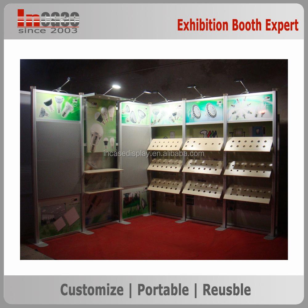 Exhibition Booth In Spanish : Personalizado exposición expo stand display tejido